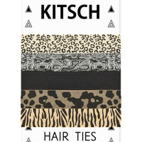 Kitsch Safari Hair Ties