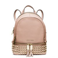 Rhea Extra-Small Leather Backpack | Michael Kors