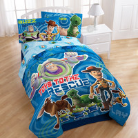 "Toy Story 3 ""Circles"" Soft Cotton Comforter Only with Tote Bag - Full"