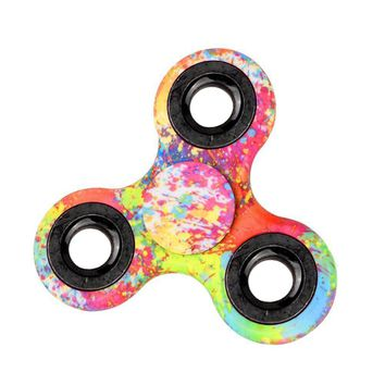 fidget toys top toys for kids fidget spinner camouflage finger spinner Anti-stress toy for boys girls gift