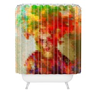 Deniz Ercelebi Maya Shower Curtain