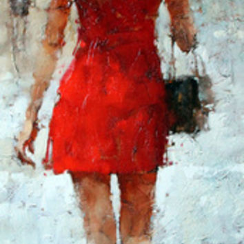 Andre Kohn Stilettos series #7 [Andre Kohn_A7167] - $99.00 oil painting for sale|Wonderful artwork|Buy it at once.
