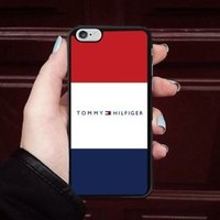 Luxury Tommy.Hilfiger.0x0 Logo Fit Hard Case For iPhone 6 6s 7 8 Plus X Cover +
