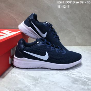 KUYOU N850 Nike Odyssey React Comfortable Running Shoes Dark Blue