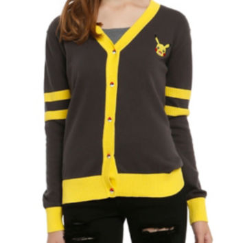 Pokemon Pikachu Girls Cardigan