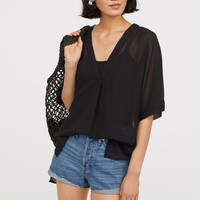 H&M V-neck Blouse $17.99