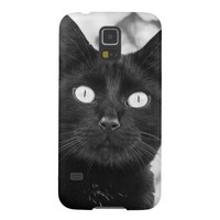 Cute Black Cat - Samsung Galaxy S5 Case