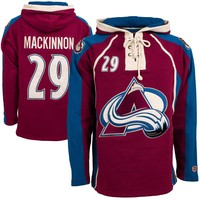 Colorado Avalanche Nathan MacKinnon Heavyweight Jersey Lacer Hoodie