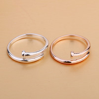 New Arrival Gift Shiny Stylish Jewelry Star Strong Character Couple Accessory Ring [4915700036]
