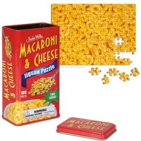 Macaroni & Cheese Two-Sided Jigsaw Puzzle