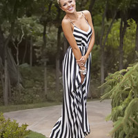 Locked Away Maxi Dress