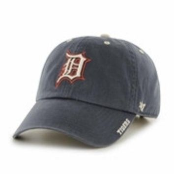 ESBON MLB Detroit Tigers Ice Navy Clean Up Hat