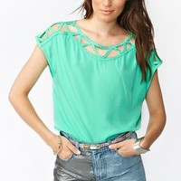 Hampton Cutout Top