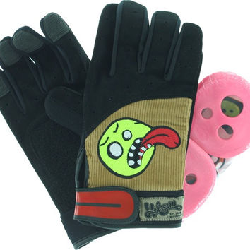 Holesom Cords Slide Gloves Large/XL Black/Brown/Assorted