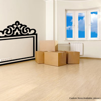 Vinyl Wall Decal Sticker Bed Frame #OS_MG182