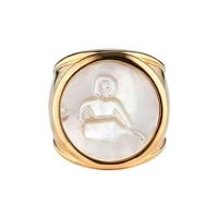 ASHA Zodiac Mother-of-Pearl Ring | Nordstrom