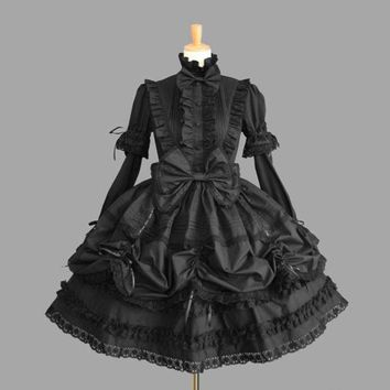 ICIKHY9 summer dress lolita dress halloween costumes for women girl cosplay princess medieval gothic dress