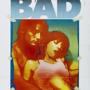 Bad Andy Warhol movie poster Sign 8in x 12in