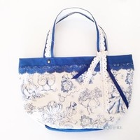 "Alice in Wonderland ""with lace tote bag"" Tokyo Disney Resort [limited] (japan import)"