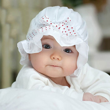 Baby Lace Bow Hat