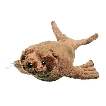 11 Inch Sea Lion Small Floppy Stuffed Animal Conservation Collection