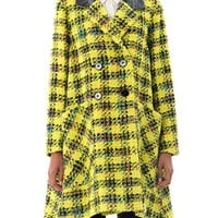 Elwood giant plaid tweed coat | Roksanda Ilincic | MATCHESFASH...