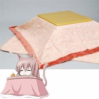 The Japanese FUTON set for KOTATSU (Pink)