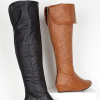 Ivy Over The Knee Boot