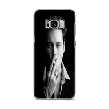 Johnny Depp (bw) Samsung Galaxy S8 | Galaxy S8 Plus Case