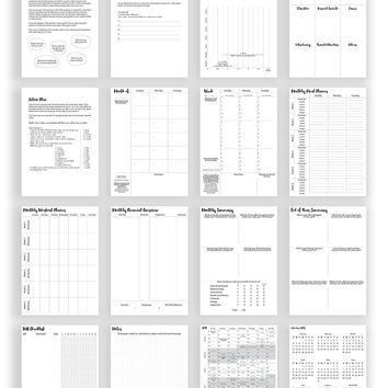 Prettysweeeet Planner: Monthly Weekly Daily Undated Goal & Life Journal, Compact Size 5.8 x 8.3 inch (A5), Encourages Goal Planning, Positivity, Motivation, Gratitude & Productivity, Black Gold Color
