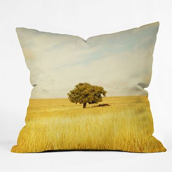 Barbara Sherman Solitary Throw Pillow