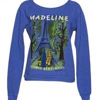 Ladies Blue Madeline Sweater From Out Of Print : TruffleShuffle.com