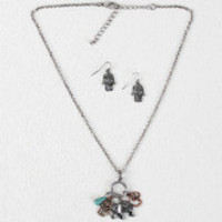 Positive Energy Charm Necklace