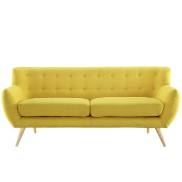 Remark Upholstered Fabric Sofa Sunny EEI-1633-SUN