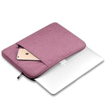 Waterproof Laptop Bag 13 For MacBook Air 13 Case,Laptop Sleeve Cover 13 11 12 15 10 7 inch Computer Case For Mac Book Pro Xiaomi