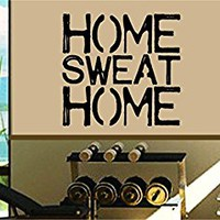 Dabbledown Home Sweat Home Window Lettering Decal Sticker Decals Stickers