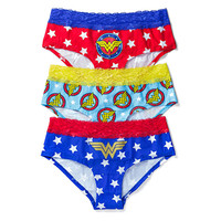 Wonder Woman 3-Pack Panties
