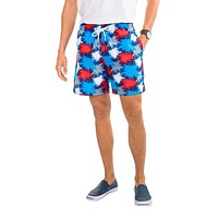 Fireworks Swim Trunks in Seven Seas Blue by Southern Tide