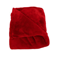 Oh So Soft Ruby King-size Microfiber Blanket
