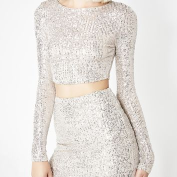Glitz N' Glam Sequin Set