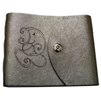 Leather Ganesha Short Personal Journal/ Diary
