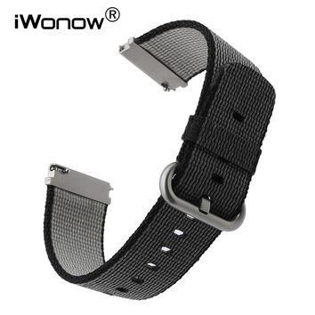 22mm Quick Release Nylon Watchband for Citizen Seiko Casio Hamilton Luminox Watch Band Fabric Strap Wrist Bracelet Black Brown