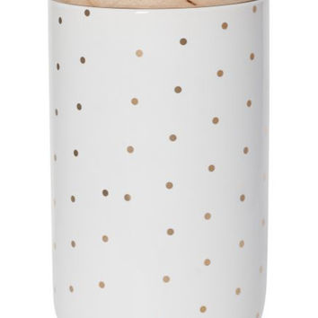 TALL CANISTER - Rose Gold Spot