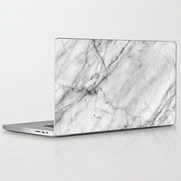 Marble Laptop & iPad Skin by Patterns And Textures | Society6