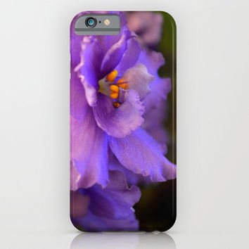 Spring violet iPhone & iPod Case by ArtGenerations