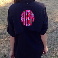 Monogrammed Fishing Shirt