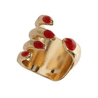 Red Hand Wrap Ring - Accessories
