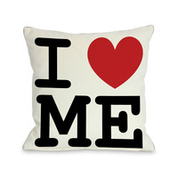 I Heart Me Pillow