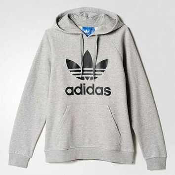 Adidas Hooded Top Sweater Pullover Sweatshirt for Women