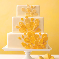 Teardrop Wedding Cake - Colorful Wedding Cakes - Wedding Cakes - MarthaStewartWeddings.com